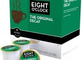EightOClock Decaf Original Medium Roast Kcups 24ct