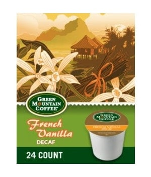 Green Mountain Coffee Decaf French Roast Dark Roast Kcups 24ct