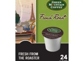 Green Mountain Coffee French Roast Dark Roast Kcups 24ct