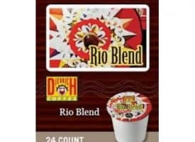 Diedrich Coffee Rio Blend Dark Roast KCups 24ct