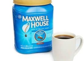 Maxwell House Original Roast Medium Roast Ground Coffee 42.5oz
