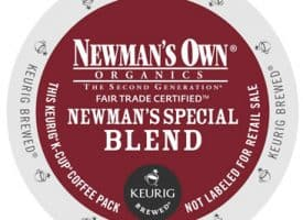 Newman's Own Newman's Special Blend Organic Dark Roast Kcups 24ct
