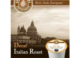 Barista Prima Coffeehouse Decaf Italian Roast Dark Roast K cups®  24ct