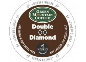 Green Mountain Coffee Double Diamond Extra Bold Dark Roast KCups 24ct