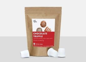 HiLine Coffee Chocolate Truffle Medium Roast Coffee Pods 10ct