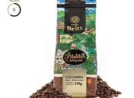 Cafe Britt Colombian Pitalito Laboyano Medium Roast Coffee 12oz
