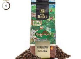 Cafe Britt Colombian Quimbaya Medium Roast Coffee 12oz