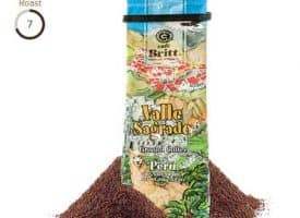 Cafe Britt Peruvian Valle Sagrado Medium Roast Coffee 12oz