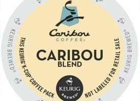 Caribou Coffee Caribou Blend Medium Roast Kcups 24ct