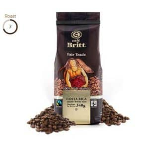 Cafe Britt Fair Trade Certified Costa Rican Medium Roast Coffee 12oz