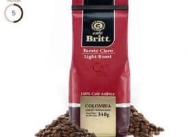 Cafe Britt Colombian Light Roast Coffee 12oz
