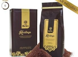 Cafe Britt Heritage Blend Medium Roast Coffee 12oz
