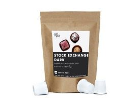 HiLine Coffee Stock Exchange Dark Roast Coffee Pods 10ct