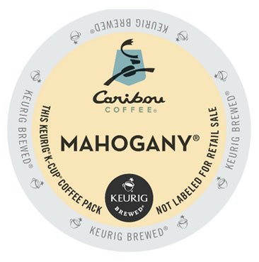 Caribou Coffee Mahogany Blend Dark Roast Kcups 24ct