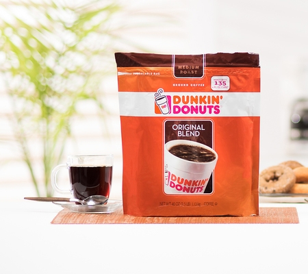 Dunkin Donuts Original Blend Medium Roast Ground Coffee 40oz