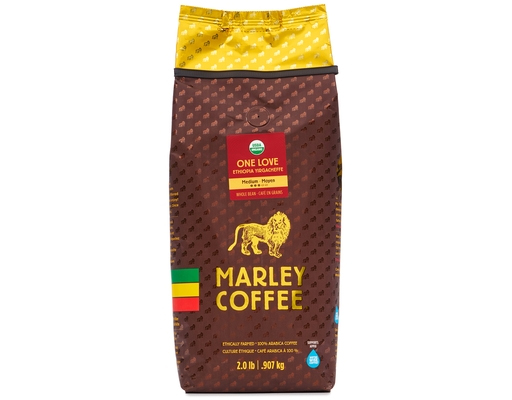 Marley Coffee One Love Medium Roast Whole Bean 30oz