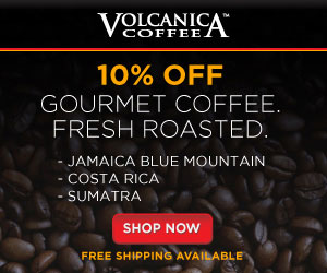 Volcanica Coffee - 10% Gourmet Coffee