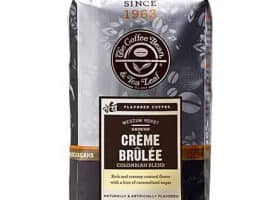 Coffee Bean and Tea Leaf Creme Brulee Ground Coffee Medium Roast 12oz