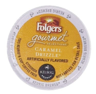 Folgers Caramel Drizzle Medium Roast Coffee K cups®  24ct
