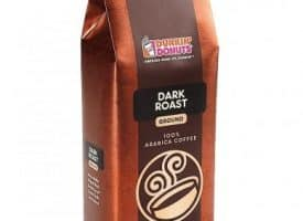 Dunkin Donuts Dark Roast Ground Coffee Dark Roast 16oz