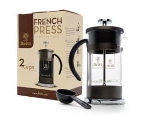 Cafe Britt 2 Cup French Press Coffee Maker