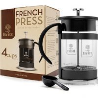 Cafe Britt 4 Cup French Press Coffee Maker