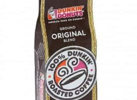 Dunkin Donuts Original Blend Ground Coffee Medium Roast 96oz
