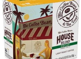 The Coffee Bean and Tea Leaf Decaf House Blend Light Roast K cups®  16ct
