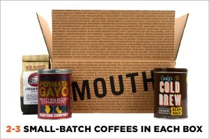 Mouth Monthly Coffee Subscription