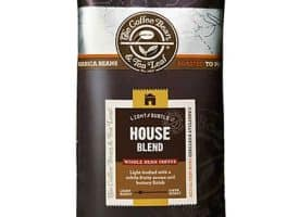 Coffee Bean and Tea Leaf House Blend Whole Bean Light Roast 16oz