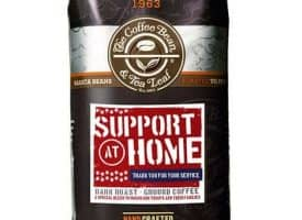 Coffee Bean and Tea Leaf Support at Home Ground Coffee Dark Roast 12oz