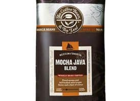 Coffee Bean and Tea Leaf Mocha Java Whole Bean Light Roast 16oz