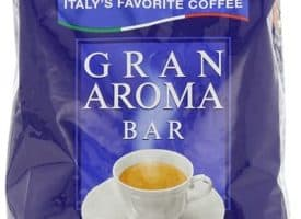 Lavazza Gran Aroma Bar Whole Bean Coffee Medium Dark Roast 35.2oz