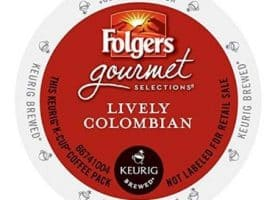 Folgers Lively Colombian Medium Roast Coffee K cups®  24ct