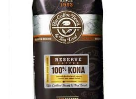 Coffee Bean and Tea Leaf 100% Kona Blend Whole Bean Light Roast 16oz