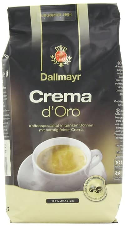 Dallmayr Crema D'Oro Whole Bean Coffee Light Roast 17.6oz