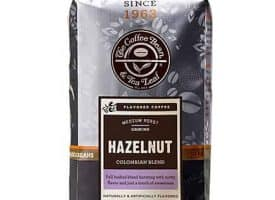 Coffee Bean and Tea Leaf Hazelnut Ground Coffee Medium Roast 12oz