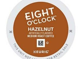 Eight O' Clock Hazelnut Medium Roast Coffee K cups®  24ct