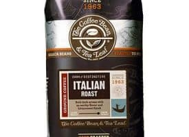 Coffee Bean and Tea Leaf Italian Roast Ground Coffee Dark Roast 12oz