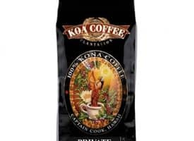 Koa Coffee Private Reserve Kona Whole Bean Coffee Dark Roast 8oz