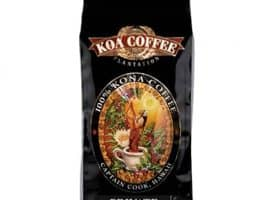 Koa Coffee Private Reserve Kona Whole Bean Coffee Medium Roast 8oz