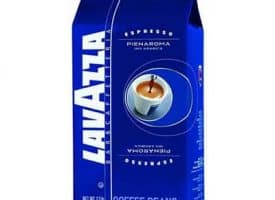 Lavazza Pienaroma Whole Bean Coffee Espresso Dark Roast 35.2 oz