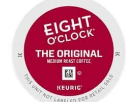 Eight O' Clock The Original Medium Roast Coffee K cups®  24ct