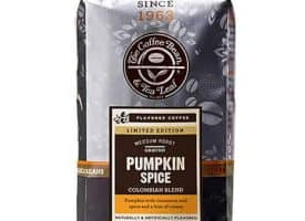 Coffee Bean and Tea Leaf Pumpkin Spice Ground Coffee Medium Roast 12oz