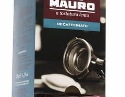 Mauro Decaf Regular Espresso Dark Roast Coffee ESE Capsules 18ct