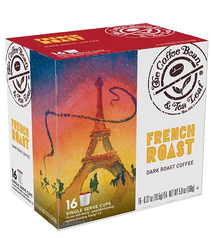 The Coffee Bean and Tea Leaf French Roast Dark Roast K cups®  16ct