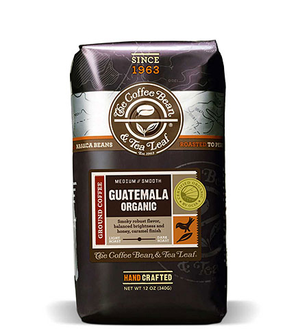 Coffee Bean and Tea Leaf Organic Guatemala Ground Coffee Medium Roast 12oz