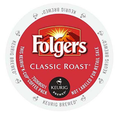 Folgers Classic Roast Medium Roast Coffee K cups® 24ct
