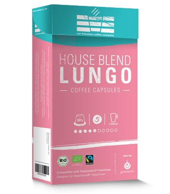 Gourmesso SFCC House Blend Medium Roast Capsules 10ct
