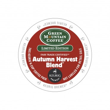 Green Mountain Coffee Autumn Harvest Blend Light Roast K cups® 24ct